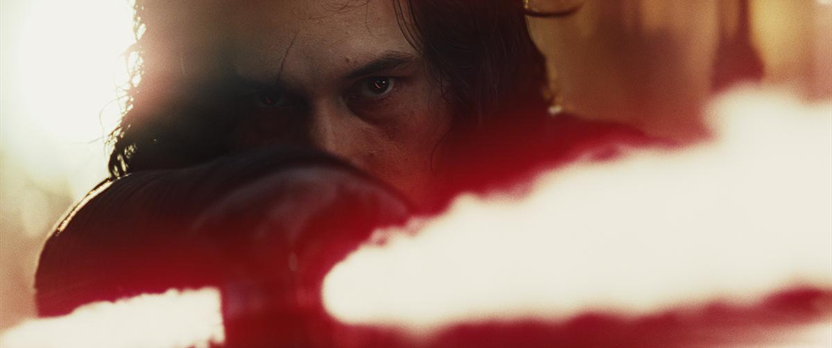 Adam Driver en Star Wars: Los últimos Jedi