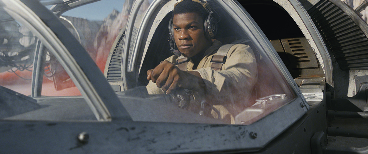 John Boyega en Star Wars: Los últimos Jedi