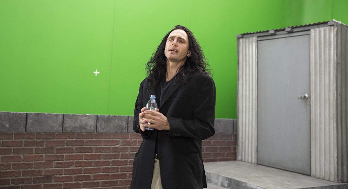 James Franco en The disaster artist