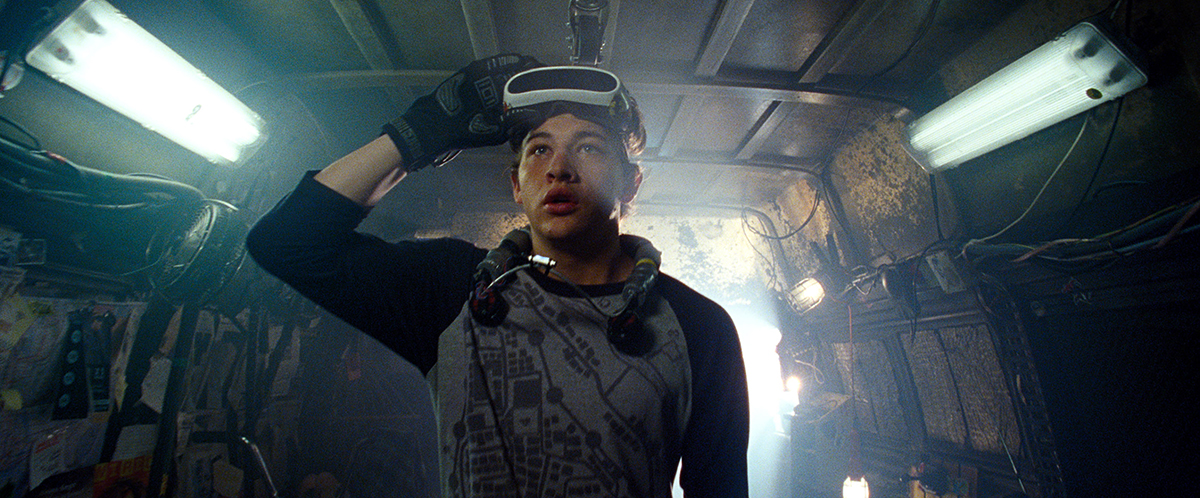 Tye Sheridan en Ready Player One