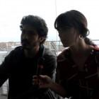 Chino Darín y Vicky Luengo en la presentación de 'Las leyes de la termodinámica' en el 21 Festival de Cine de Málaga