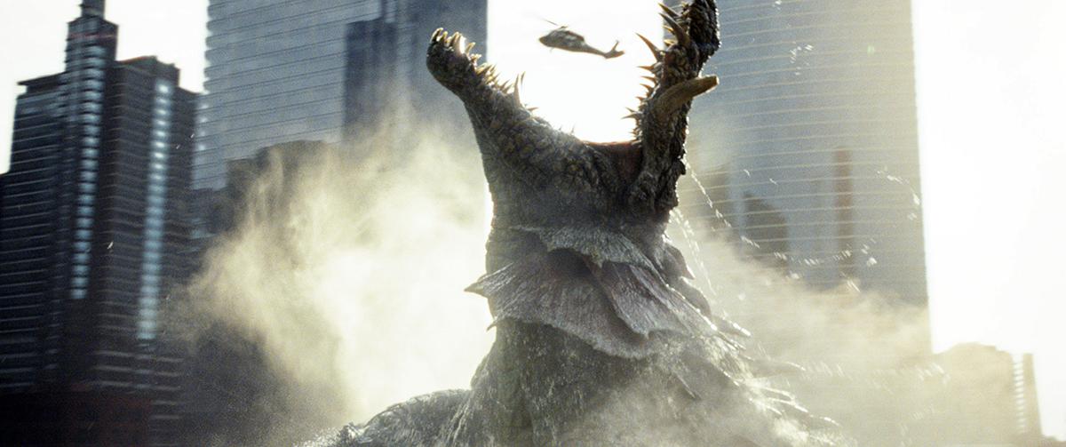 El cocodrilo mutante de Proyecto Rampage