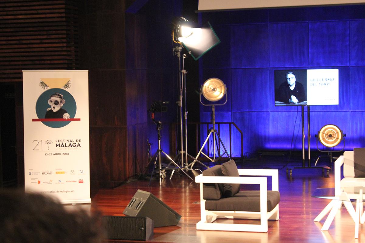 El 21 Festival de Málaga ofreció una masterclass de Guillermo del Toro, flamante ganador del Oscar