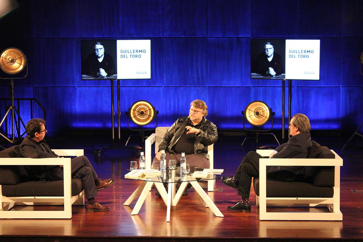 Guillermo del Toro ofreció una masterclass en el 21 Festival de Cine de Málaga (2)