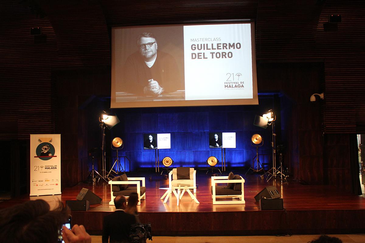 Guillermo del Toro ofreció una masterclass en el 21 Festival de Cine de Málaga (1)