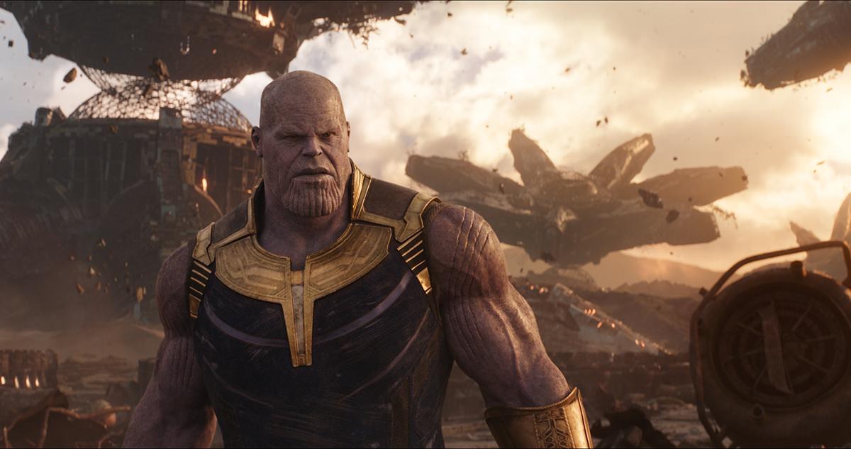 Josh Brolin en Vengadores Infinity War