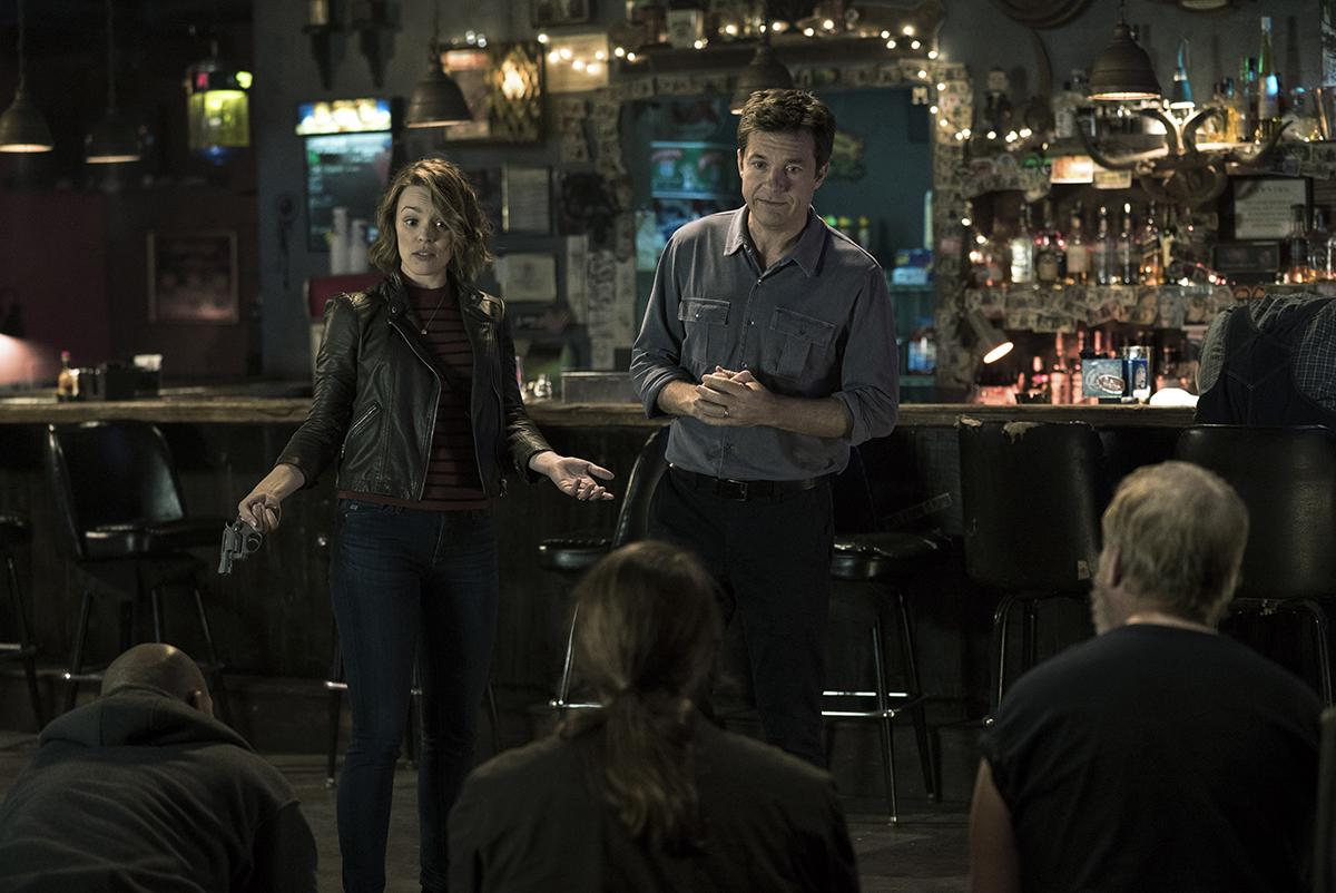 Rachel McAdams y Jason Bateman en Noche de juegos