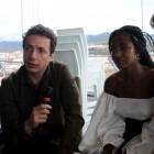 Vito Sanz, Berta Vázquez y Juan Betancourt en la presentación de Las leyes de la termodinámica en el 21 Festival de Málaga