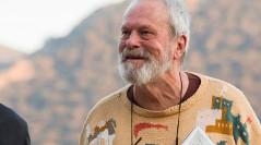 Jonathan Pryce y Terry Gilliam en el rodaje de El hombre que mató a Don Qujote