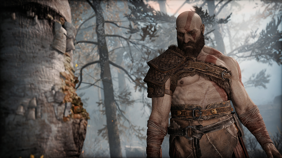 Kratos en God of War