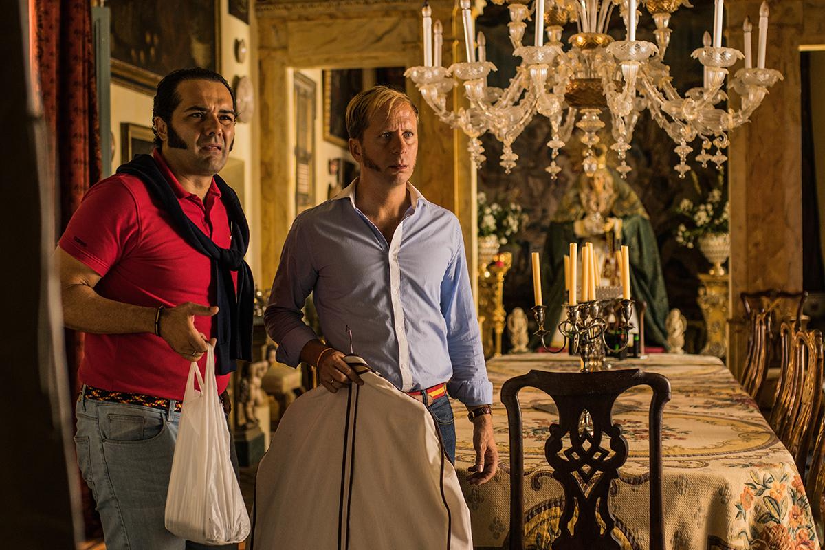 Alfonso Sánchez y Alberto López en El mundo es suyo