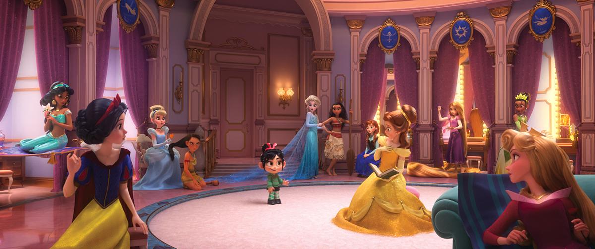 Todas las princesas Disney estarán en Ralph rompe Internet