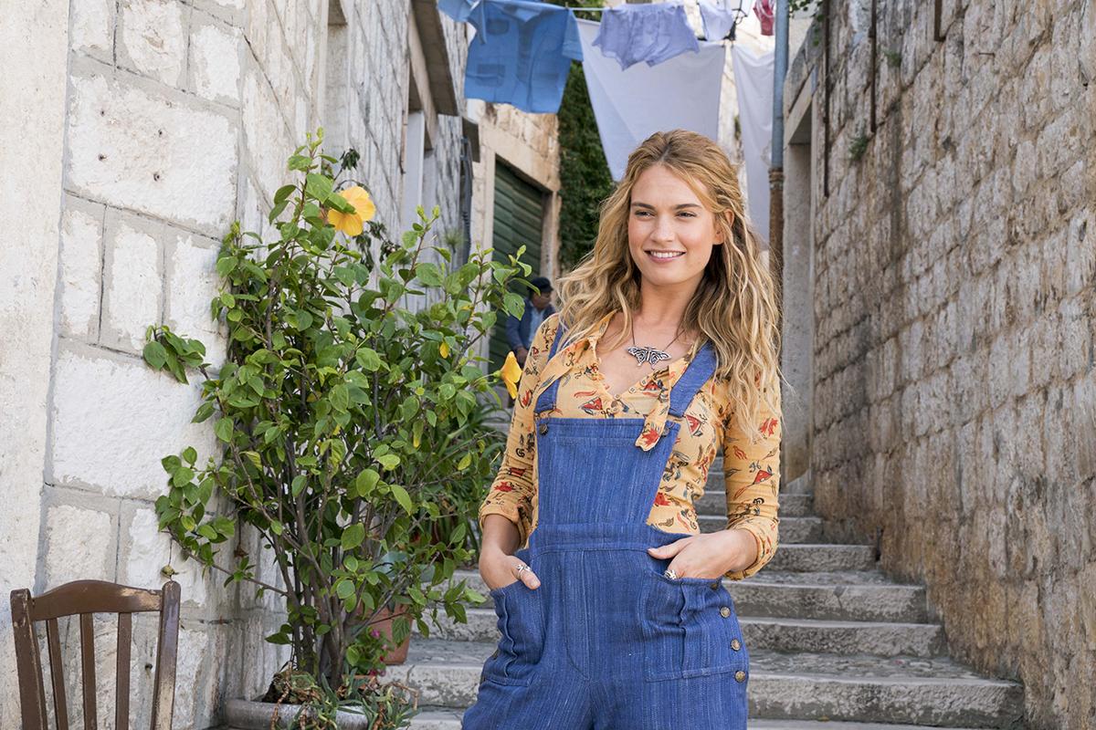 Lily James en Mamma Mia! Una y otra vez