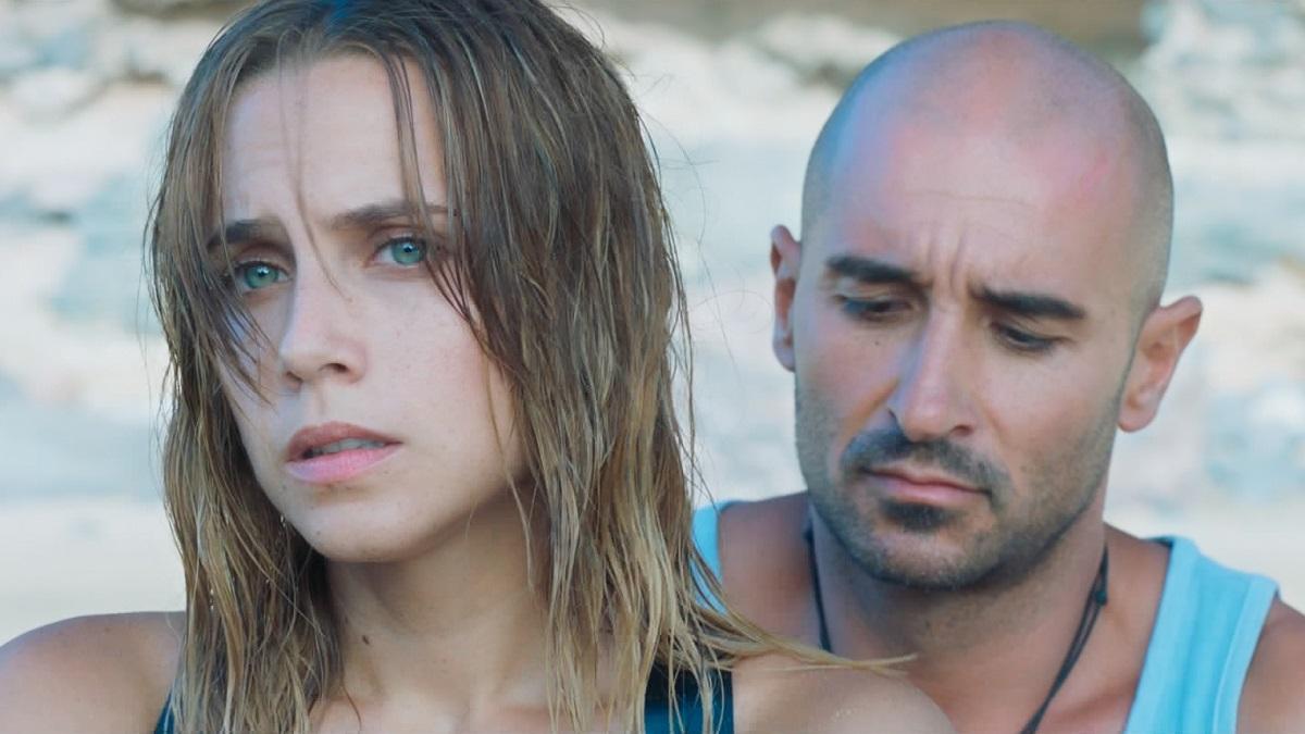 Aura Garrido y Alain Hernández en Solo