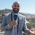 Alain Hernández en la presentación de Solo