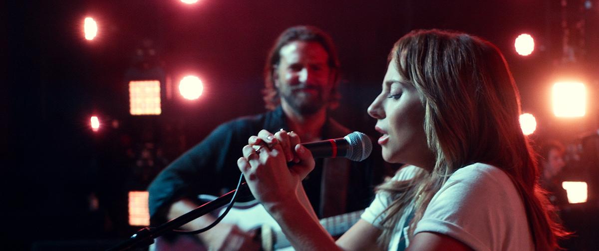 Bradley Copper y Lady Gaga en Ha nacido una estrella