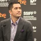 Drew Goddard en la presentación de Malos tiempos en El Royale en el 66 Festival de Cine de San Sebastián