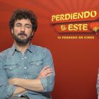 Miki Esparbé y Edu Soto en la presentación de Perdiendo el este
