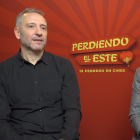Nacho G. Velilla y Paco Caballero en la presentación de Perdiendo el este