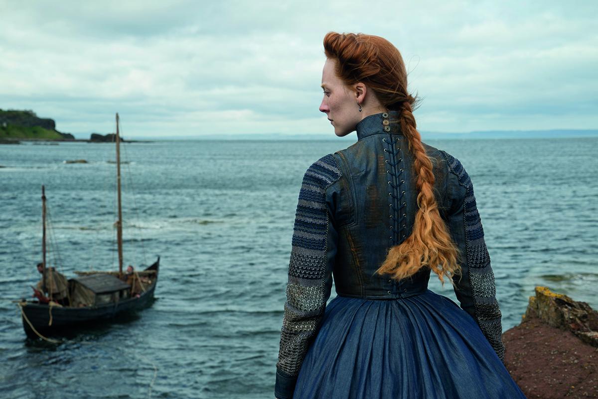 Saoirse Ronan en María, reina de Escocia