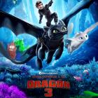 Poster - Cómo entrenar a tu dragón 3
