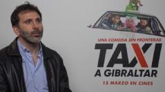 Alejo Flah en la presentación de Taxi a Gibraltar