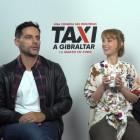 Joaquín Furriel, Ingrid García-Jonsson y Dani Rovira en la presentación de Taxi a Gibraltar