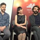 Carlos Santos, Ernesto Sevilla, Miren Ibarguren y David Verdaguer en la presentación de Lo dejo cuando quiera