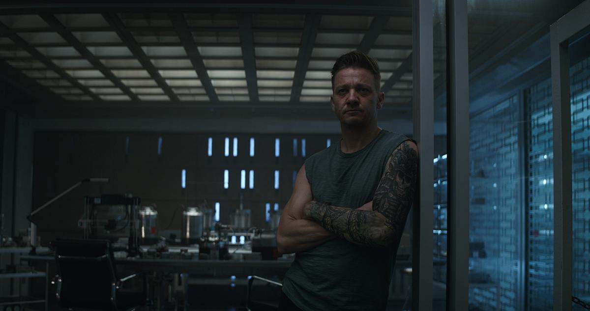 Jeremy Renner en Vengadores: Endgame