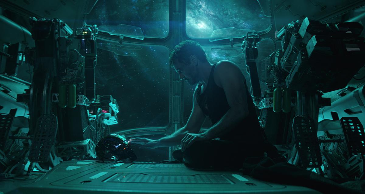 Robert Downey Jr. en Vengadores: Endgame
