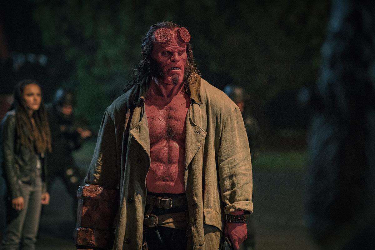 David Harbour en Hellboy (2019)