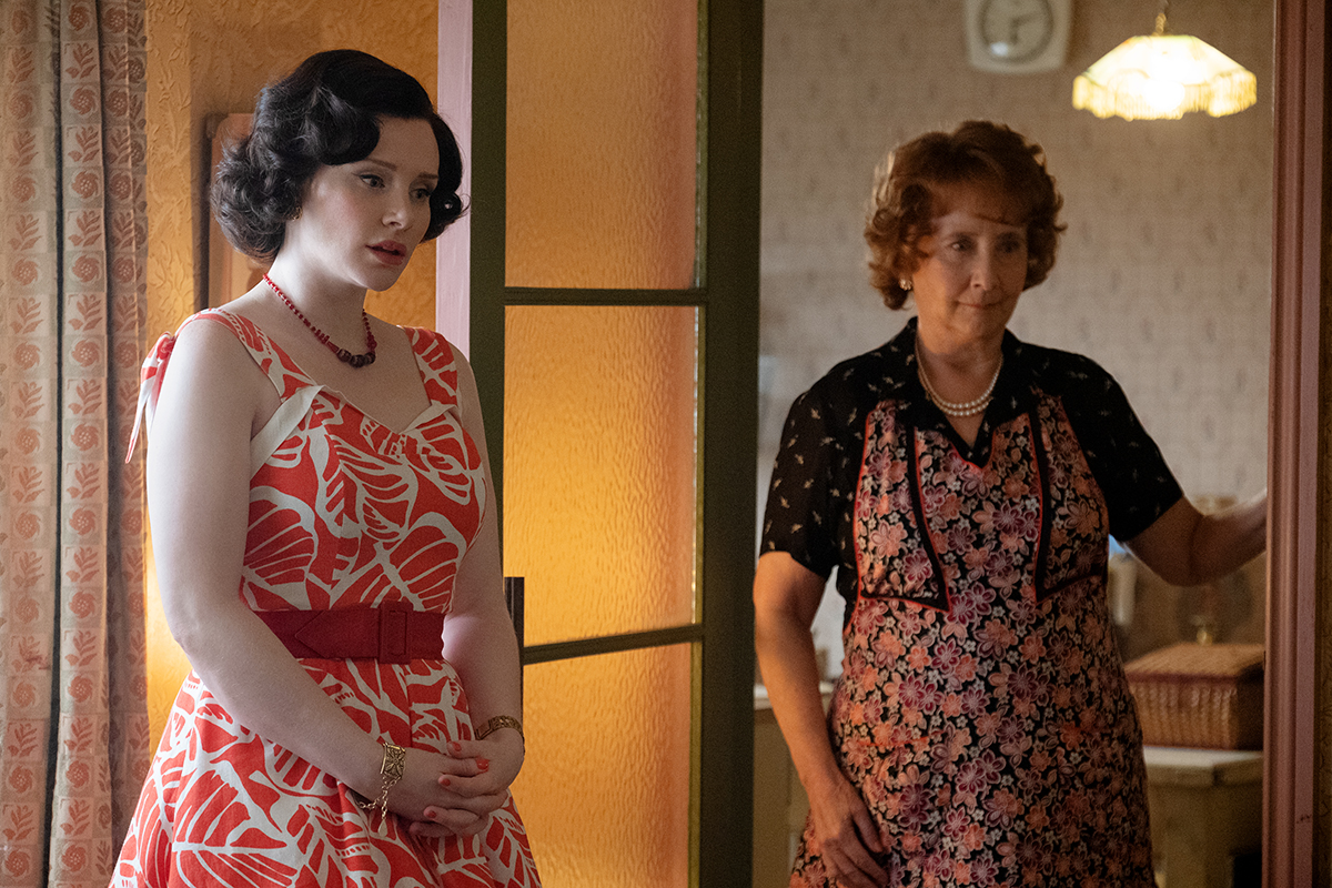 Bryce Dallas Howard y Gemma Jones en Rocketman