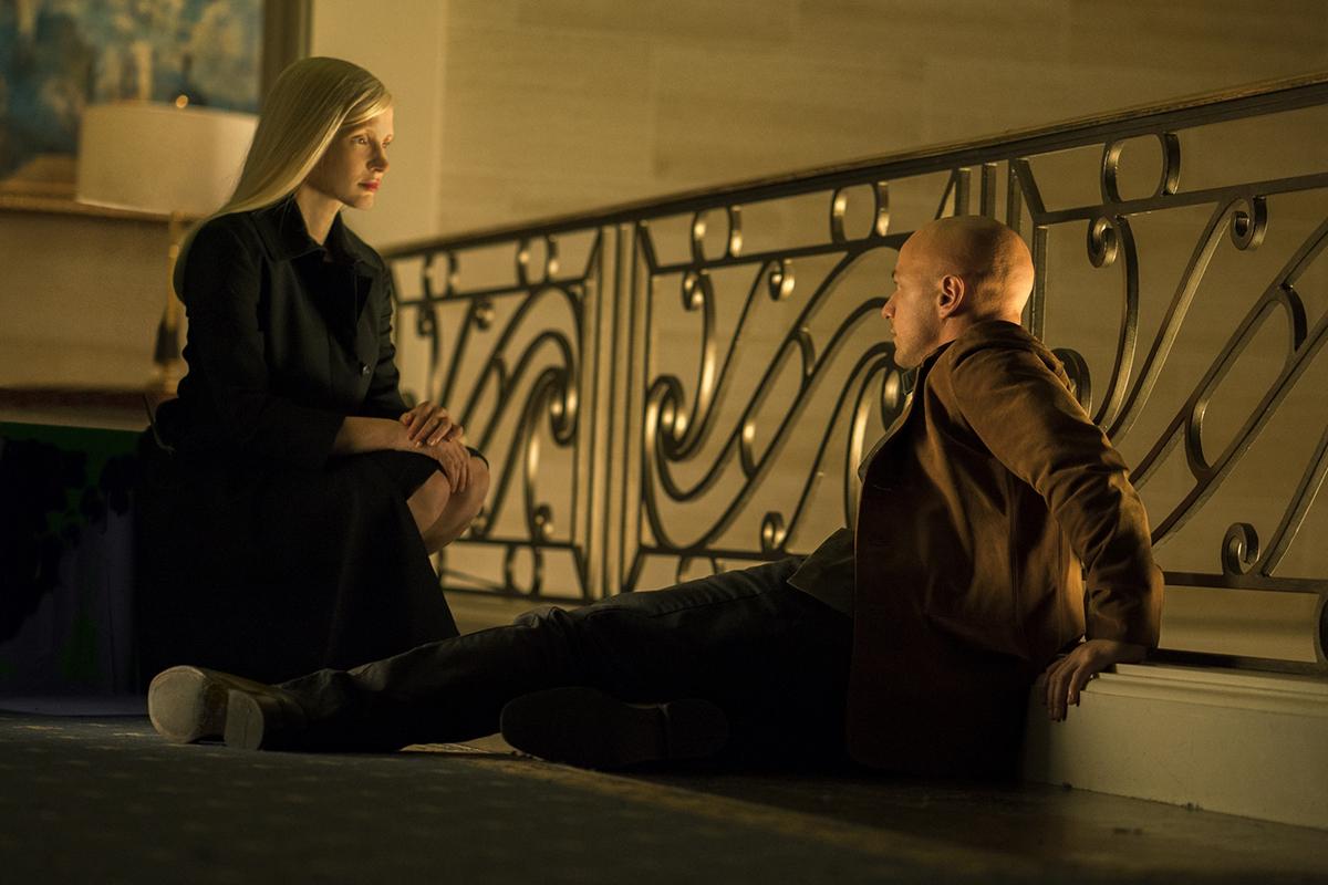 Jessica Chastain y James McAvoy en X-Men: Fénix Oscura - Poster Final
