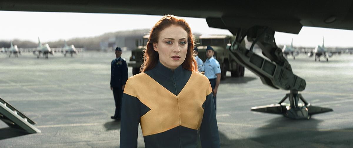 Sophie Turner en X-Men: Fénix Oscura - Poster Final