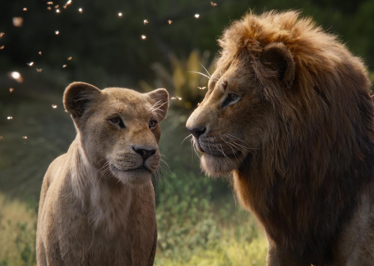 Beyoncé Knowles-Carter y Donald Glover en El rey león (2019)