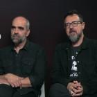 Luis Tosar y Paco Plaza en la presentación de Quien a hierro mata