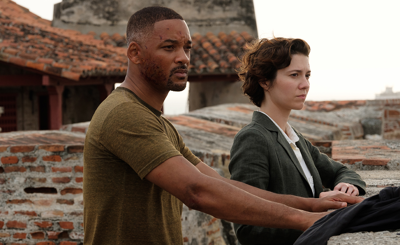 Will Smith y Mary Elizabeth Winstead en Géminis