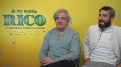 Álvaro Fernández Armero y Álex García en la presentación de Si yo fuera rico