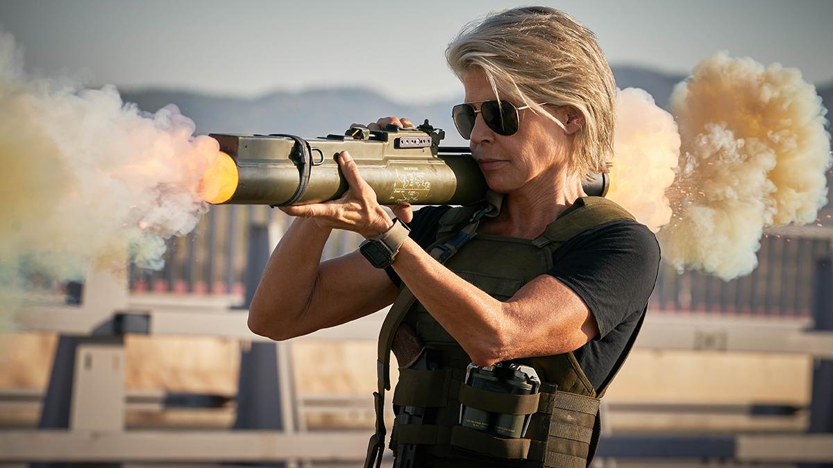 Linda Hamilton en Terminator: Destino Oscuro