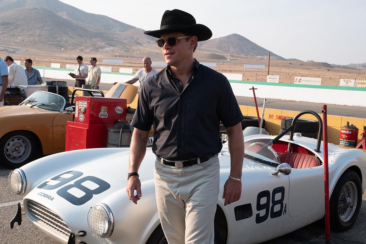 Matt Damon en Le Mans '66