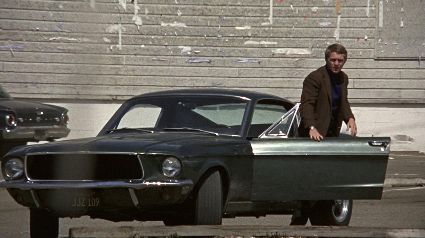 Steve McQueen en Bullitt