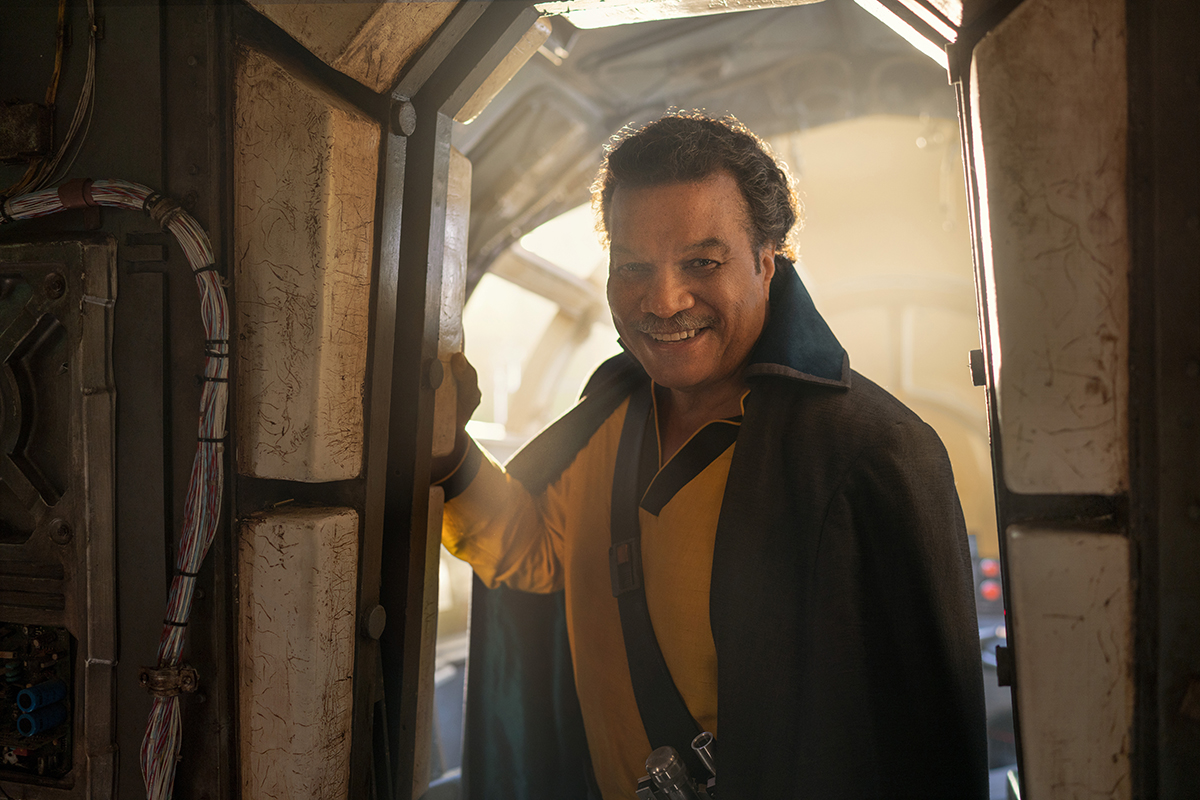 Billy Dee Williams en Star Wars: El ascenso de Skywalker