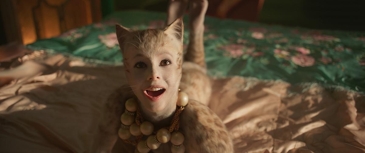 Francesca Hayward en Cats