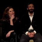 Bea Segura, Iván Marcos y Begoña Vargas en la presentación de Malasaña 32