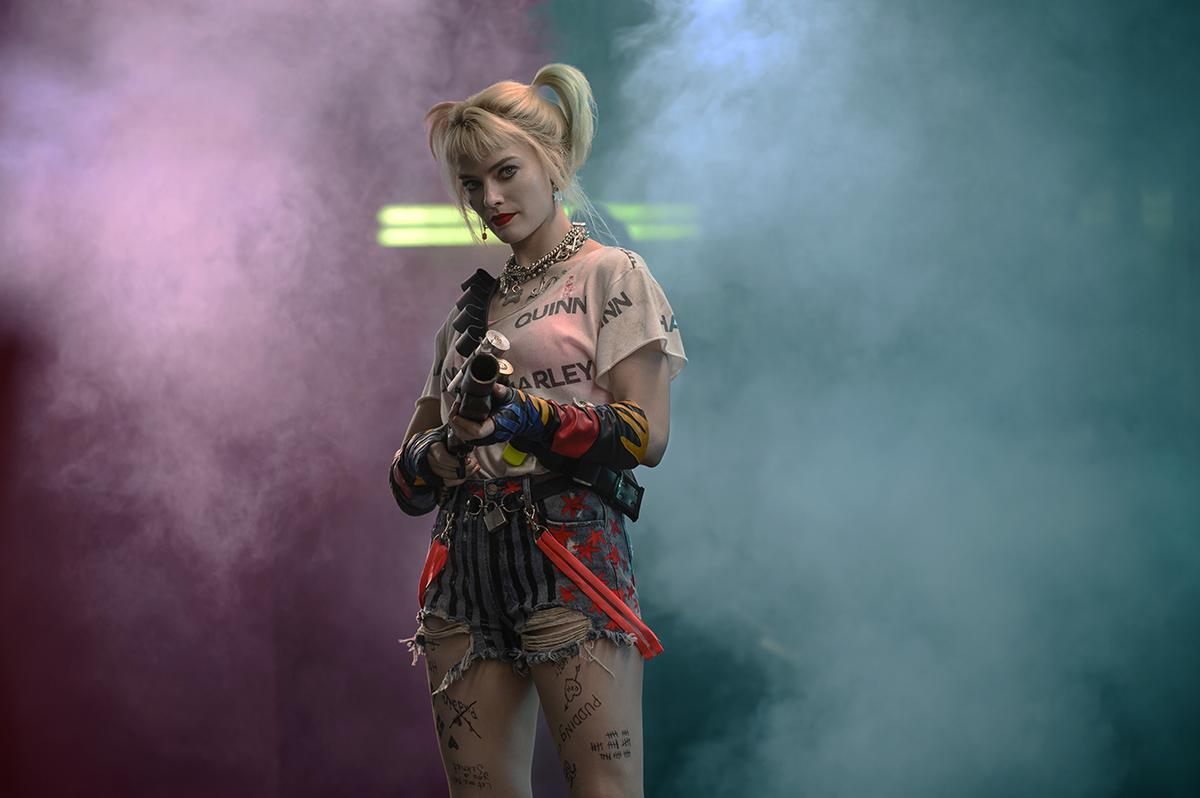 Margot Robbie en Aves de presa y la fantabulosa emancipación de Harley Quinn