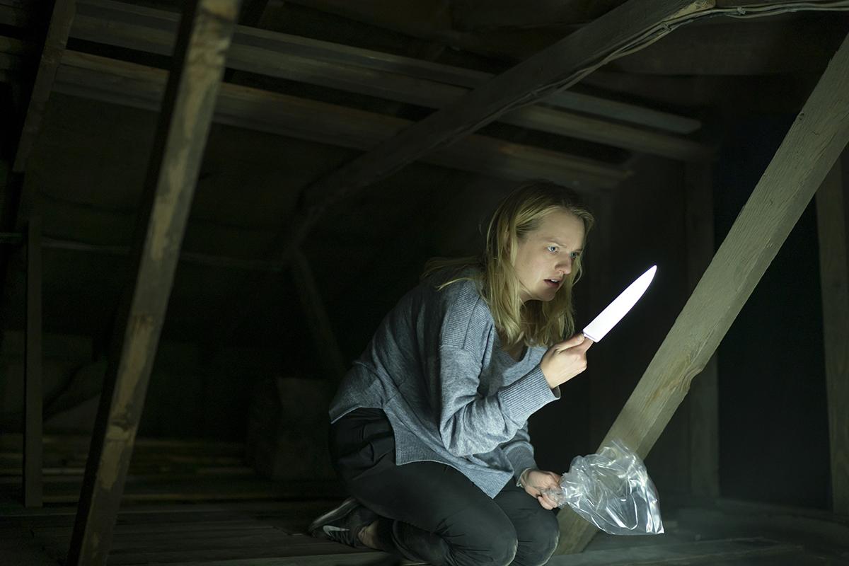 Elisabeth Moss en El hombre invisible (2020)