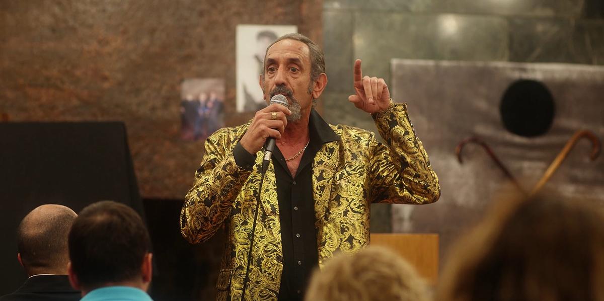 José Luis Esteban en El último show