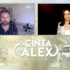Fernando Gil y Aitana Sánchez-Gijón en la presentación de La cinta de Álex