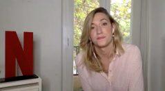 """Abril Zamora en la presentación de """"La vida por delante"""""""