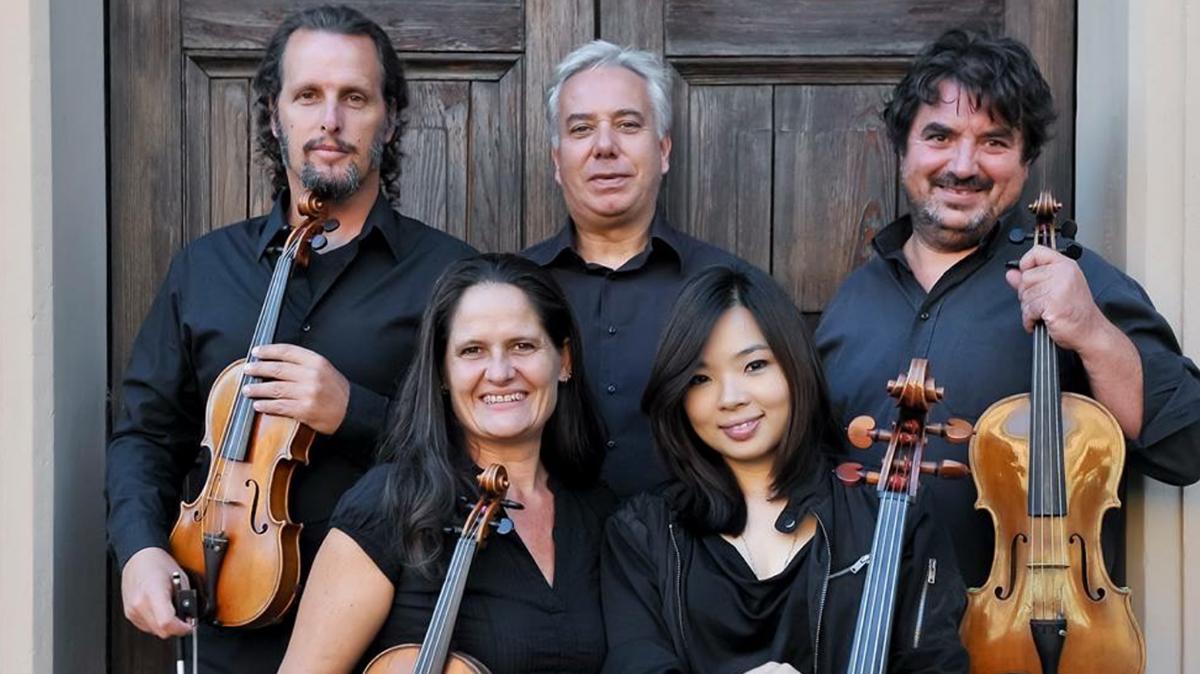 Leandro Piccioni y el cuarteto de cuerdas Quartetto Pessoa